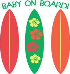 Baon board vector