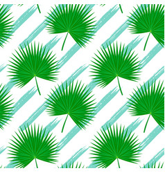 brush stroke pattern palmetto vector image