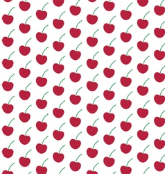 Crimson cherry pattern vector