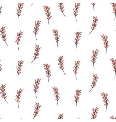 Cute feather pattern texture vector