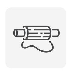 dough roller icon vector image