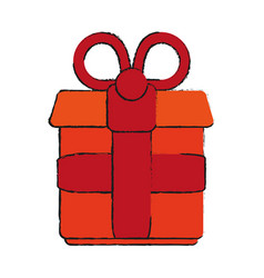 gift draw vector image