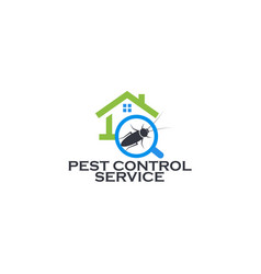 pest control service logo concept prevention vector image