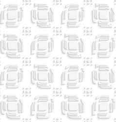 White leaves split ad rectangle groups seamless vector