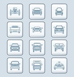 Cars set - TECH series vector image vector image