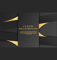 Abstract dark curve overlapping background vector