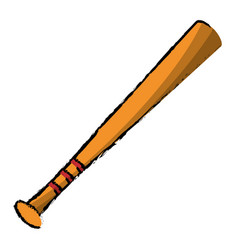 Baseball bat sport image vector