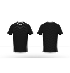 Black and white layout e-sport t-shirt design vector