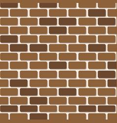 brick wall paper vector image
