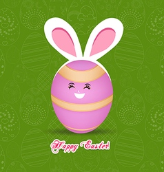 Happy Easter celebrations greeting card design vector