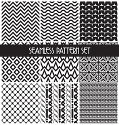 set paterna2 vector image