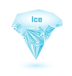 Geometric ice cream vector image vector image