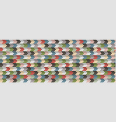 abstract geometric background 3d effect retro vector image