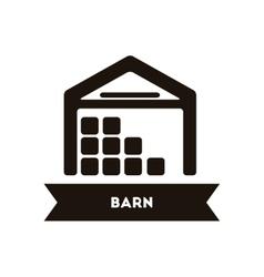 Barn building vector