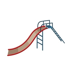 Childrens slide icon cartoon style vector image