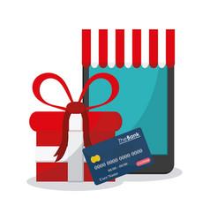 E-commerce concept design vector