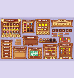 Game gui 44 vector