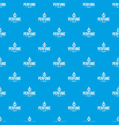 Glamour pattern seamless blue vector