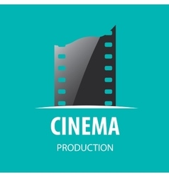 Logo cinema vector