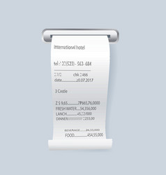 Paper print check element vector