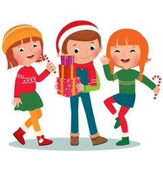 Children Christmas Party vector image vector image