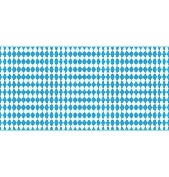 Seamless Oktoberfest blue background vector image vector image