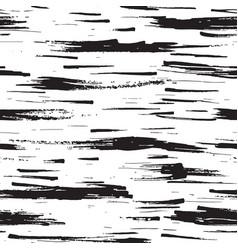 birch tree bark texture seamless pattern black vector image