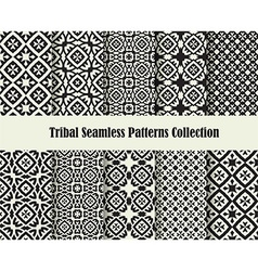 tribal cross ornament vector image vector image
