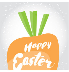 happe easter holiday greeting card vector image vector image