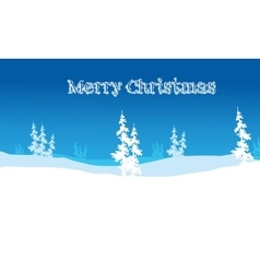 Christmas backgrounds hills scenery vector