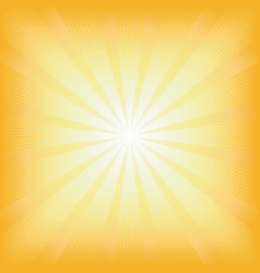 square summer sun light burst vector image
