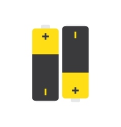 Battery icon isolated vector