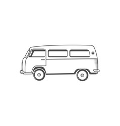 camper one logotype vector image