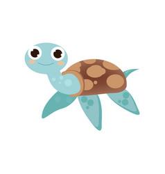 cute cartoon image of an animal funny cute animal vector image