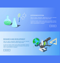 Experementation research and development info vector