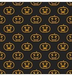 halloween different linear seamless pattern vector image