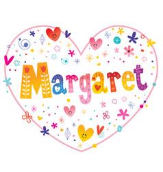 Margaret female given name vector