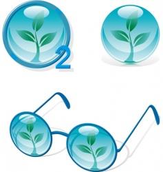 eco designs vector image vector image