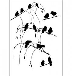 rows vector image vector image