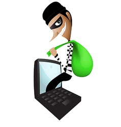 theft vector image