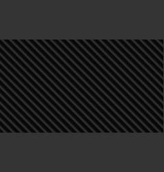 Black carbon fiber pattern texture background vector