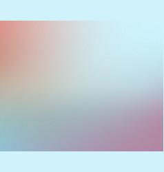 Blured light blue soft gradient background vector