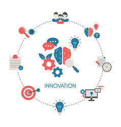 concept innovation concept innovation vector image
