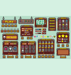 Game gui 49 vector