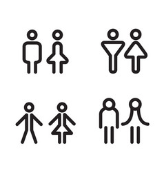 Toilet icon great for any use symbol vector