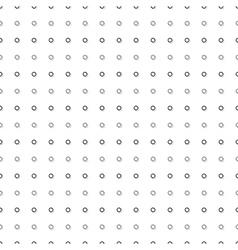 Gray Black Tiny Circle Abstract White vector image vector image