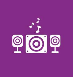 audio speakers 21 system design vector image