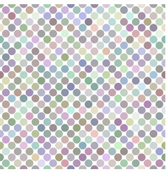 colorful seamless dot pattern background vector image
