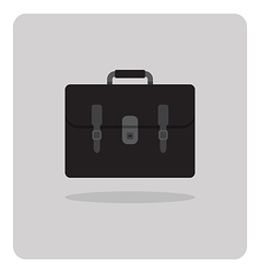 flat icon school bag vector image