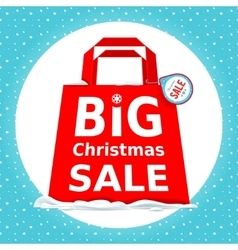 Great Christmas sale Holiday Sale with vector image